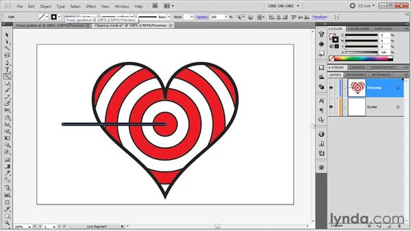 Drawing a line segment: Illustrator CS5 One-on-One: Fundamentals