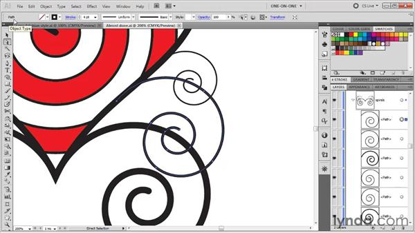 Selecting similar objects: Illustrator CS5 One-on-One: Fundamentals