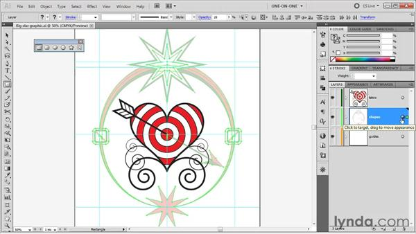 Creating a full-blown tracing layer: Illustrator CS5 One-on-One: Fundamentals