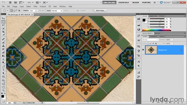Tracing a photograph: Illustrator CS5 One-on-One: Fundamentals