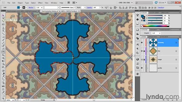 Using the Shape Builder tool: Illustrator CS5 One-on-One: Fundamentals