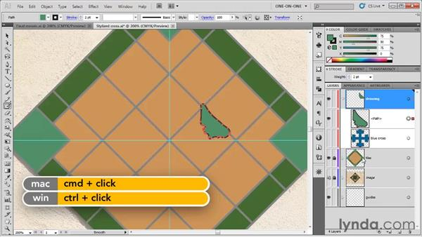 Cleaning up Shape Builder leftovers: Illustrator CS5 One-on-One: Fundamentals