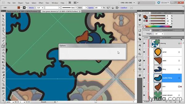 Reflecting across an angled axis: Illustrator CS5 One-on-One: Fundamentals