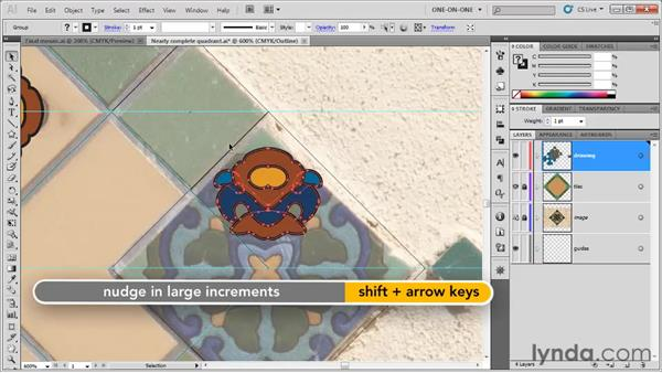 Establishing design groups: Illustrator CS5 One-on-One: Fundamentals