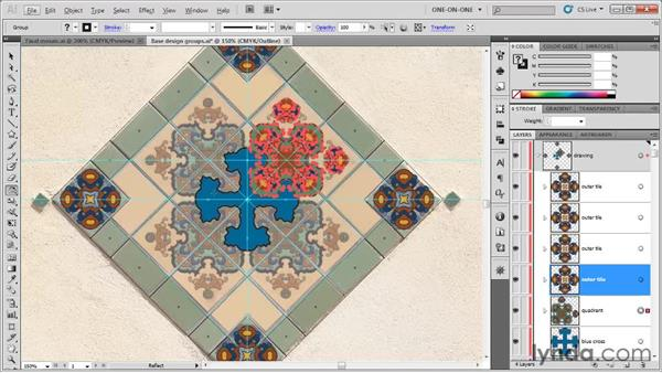 When to rotate vs. reflect: Illustrator CS5 One-on-One: Fundamentals