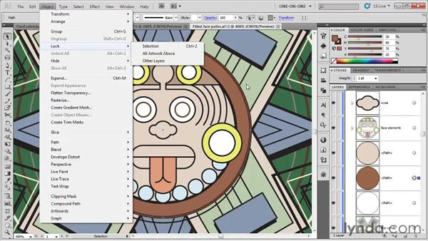 The Hide and Show commands: Illustrator CS5 One-on-One: Fundamentals
