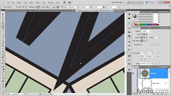 Cap, Join, and Miter Limit: Illustrator CS5 One-on-One: Fundamentals