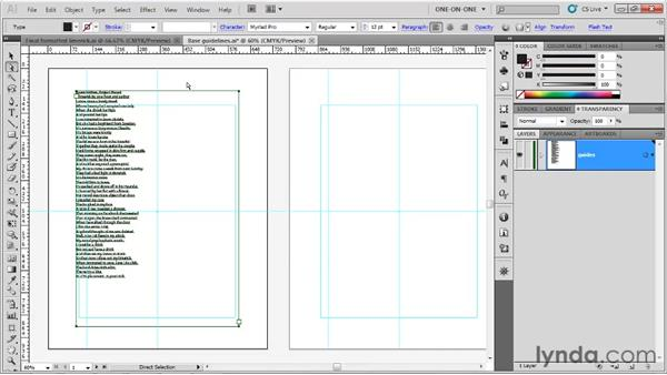 Placing and threading text: Illustrator CS5 One-on-One: Fundamentals