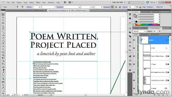 Laying down base formatting attributes: Illustrator CS5 One-on-One: Fundamentals