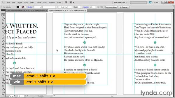The stuff Check Spelling doesn't catch: Illustrator CS5 One-on-One: Fundamentals