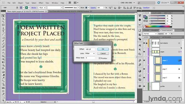 Attaching type to a closed path: Illustrator CS5 One-on-One: Fundamentals