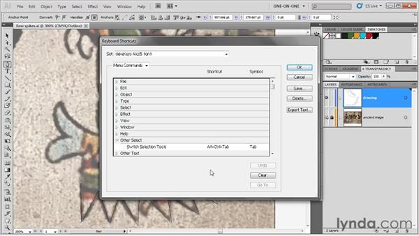 Switching arrow tools on the fly: Illustrator CS5 One-on-One: Fundamentals