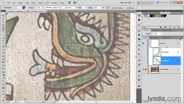 Faking a spline curve: Illustrator CS5 One-on-One: Fundamentals