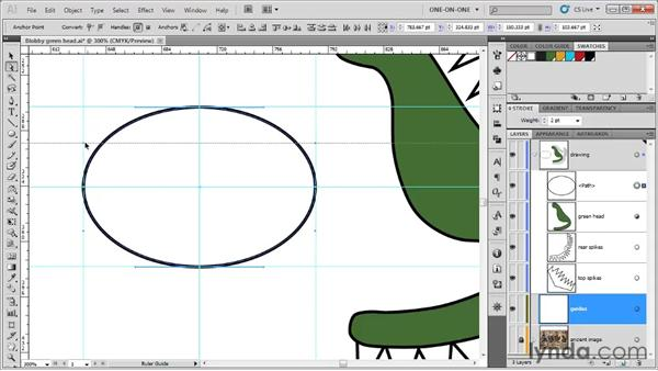 Drawing perfect smooth points: Illustrator CS5 One-on-One: Fundamentals