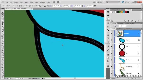 Finessing points and segments: Illustrator CS5 One-on-One: Fundamentals
