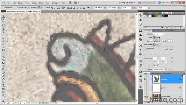 Splitting and joining paths: Illustrator CS5 One-on-One: Fundamentals