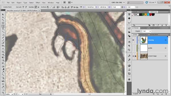 Cusp points and miter limits: Illustrator CS5 One-on-One: Fundamentals