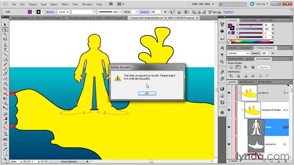Switching shape modes: Illustrator CS5 One-on-One: Fundamentals