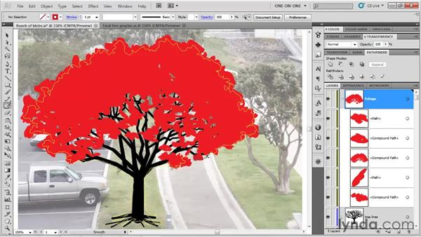 Filling in and erasing away: Illustrator CS5 One-on-One: Fundamentals