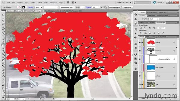 Filling in the limbs: Illustrator CS5 One-on-One: Fundamentals