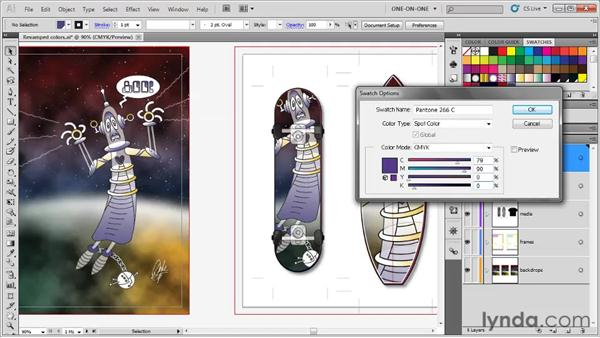 Spot color and Separation Preview: Illustrator CS5 One-on-One: Fundamentals