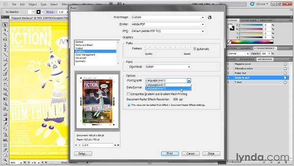 The obscure Graphics options: Illustrator CS5 One-on-One: Fundamentals
