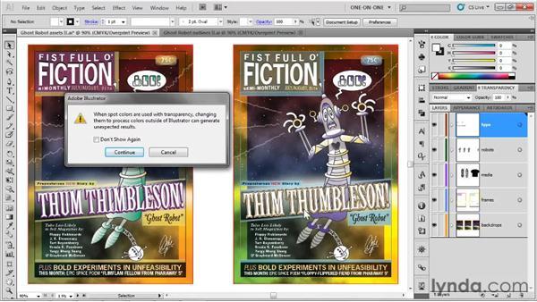 Saving a PDF-compatible AI file: Illustrator CS5 One-on-One: Fundamentals
