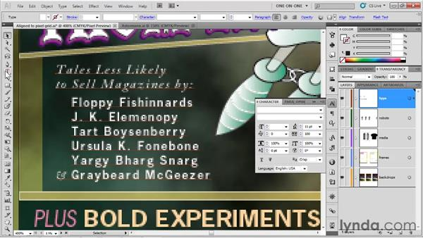Making better type for the web: Illustrator CS5 One-on-One: Fundamentals