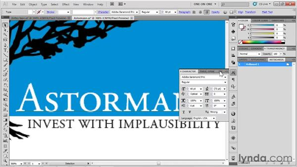 Optimizing a low-color graphic: Illustrator CS5 One-on-One: Fundamentals