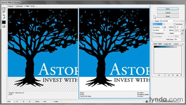 The versatile PNG format: Illustrator CS5 One-on-One: Fundamentals