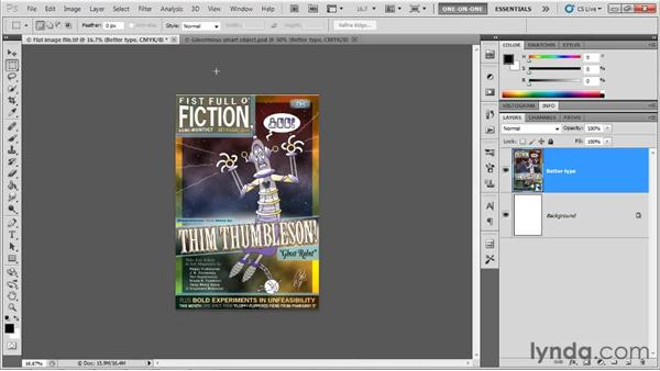 Placing an AI Smart Object: Illustrator CS5 One-on-One: Fundamentals