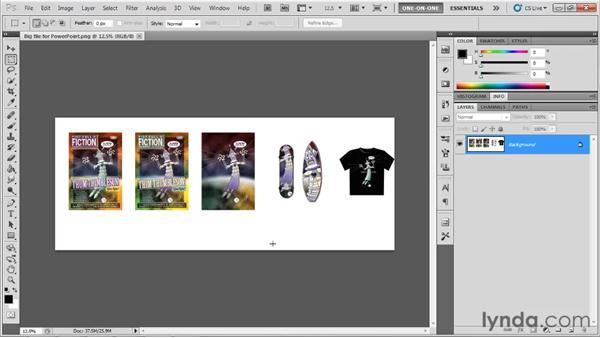 Exporting to Microsoft Office and PowerPoint: Illustrator CS5 One-on-One: Fundamentals