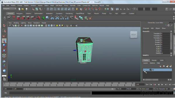 Duplicating objects: Maya 2011 Essential Training