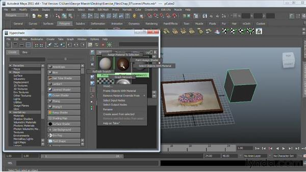 Working with the Hypershade window : Maya 2011 Essential Training