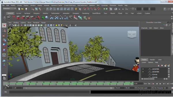 Adding sound to animations : Maya 2011 Essential Training