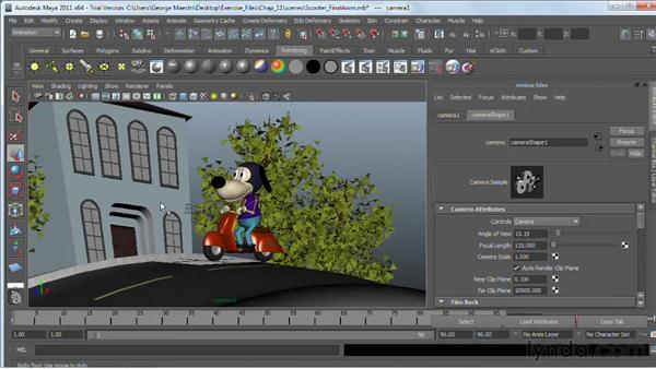Understanding the basics of cameras : Maya 2011 Essential Training