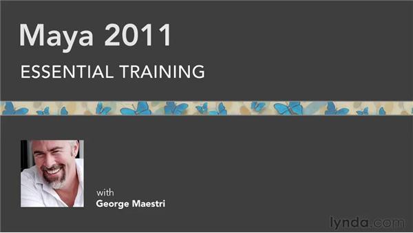 Goodbye: Maya 2011 Essential Training