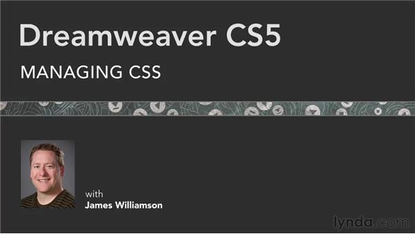 Goodbye: Managing CSS in Dreamweaver