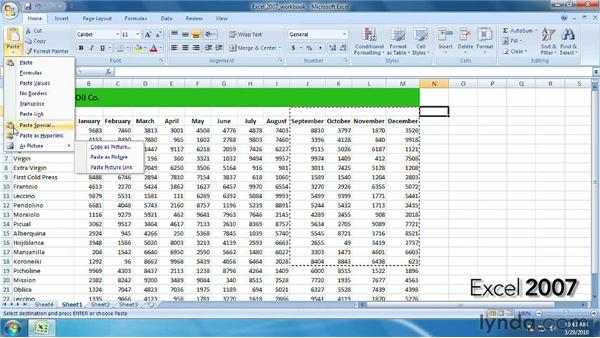Comparing Excel 2007 and Excel 2010: Excel 2010 New Features