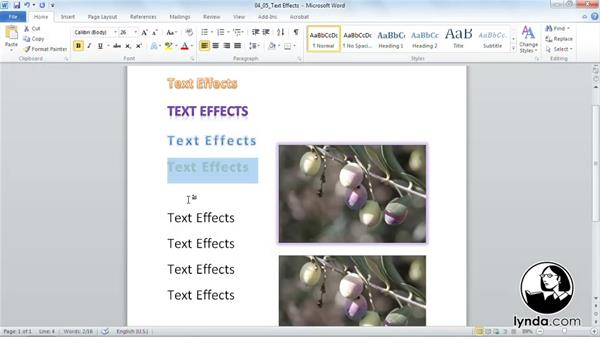 Welcome: Word 2010 Essential Training