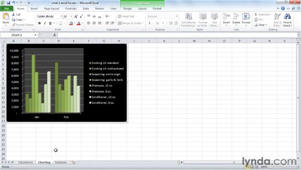 Exploring three common uses for Excel: Excel 2010 Essential Training