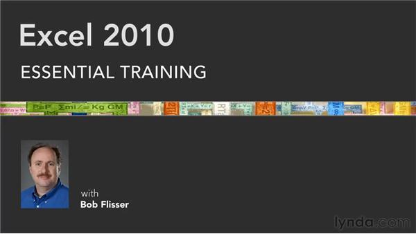 Goodbye: Excel 2010 Essential Training