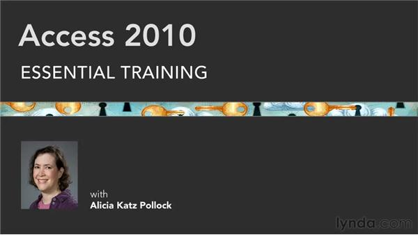 Goodbye: Access 2010 Essential Training