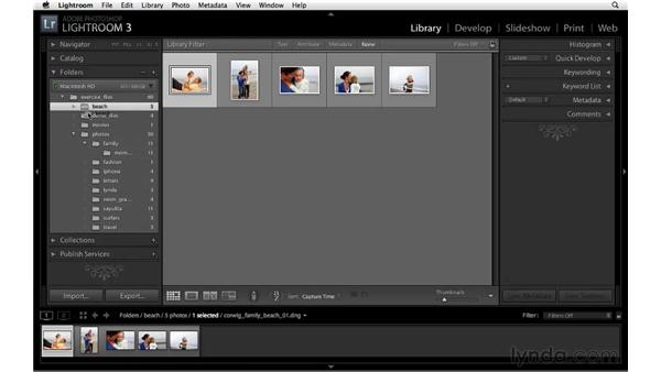 Synchronizing and finding missing photos: Lightroom 3 New Features