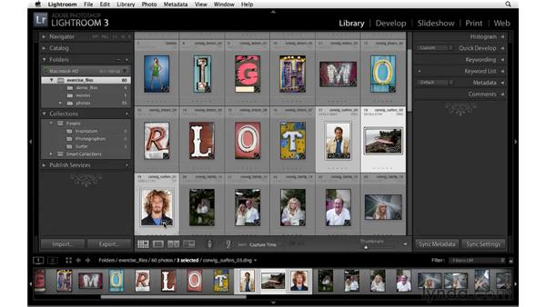 Working with collections: Lightroom 3 New Features