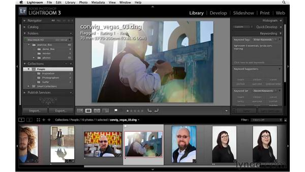 Modifying image and thumbnail overlays: Lightroom 3 New Features