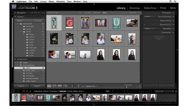 Focal length filtering and Smart Collections: Lightroom 3 New Features