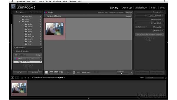 Uploading photos to Flickr: Lightroom 3 New Features