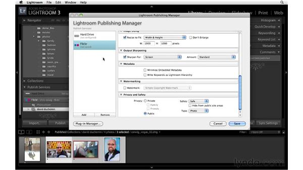 Publishing to a Flickr Photoset: Lightroom 3 New Features