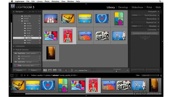 Publishing to a Smart Folder or Smart Photoset: Lightroom 3 New Features